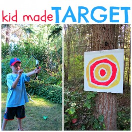 target craft for kids