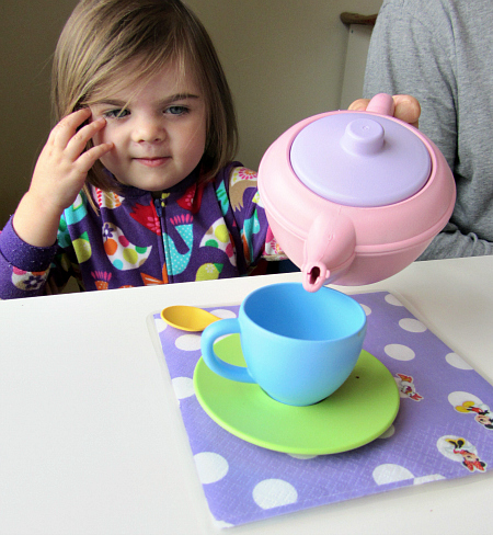tea party play and place mat craft