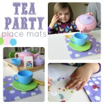 Tea Party Place Mat Craft & Pretend Play