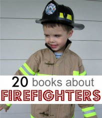 20 books about fire fighters