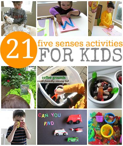 21 Five Senses Activities For Kids