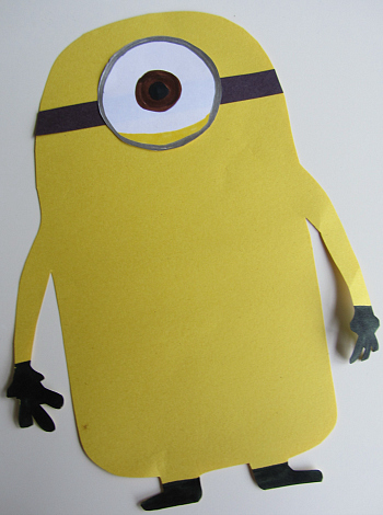 Despicable Me 2 Halloween Crafts