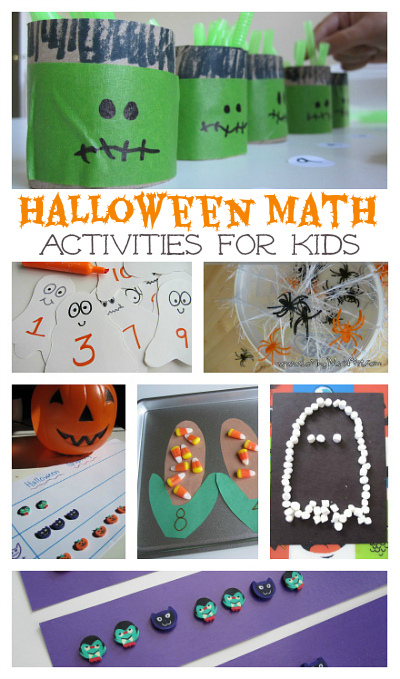 Fun Math Halloween Games & Activities from Weekend Links on HowToHomeschoolMyChild.com