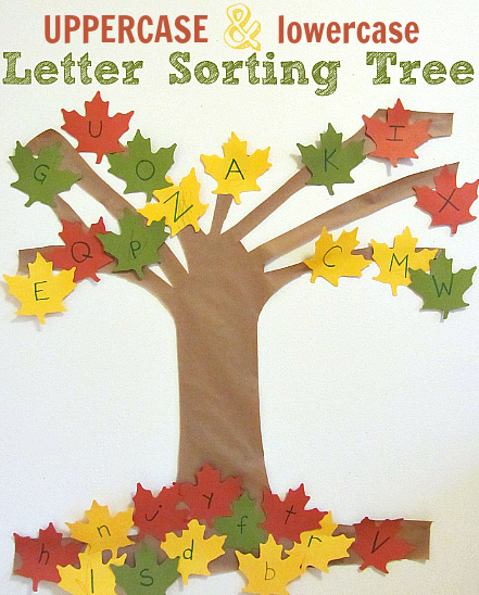 Fall Crafts Activities Alphabet For Preschool