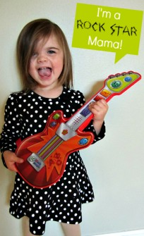 Pretend Play with Touch Magic Rockin Guitar