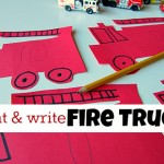 Write & Count Fire Trucks
