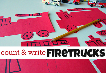 count & write firetrucks