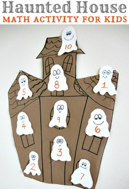 Haunted House Math Activity