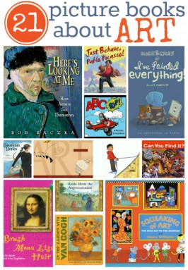 21 Picture Books About Art