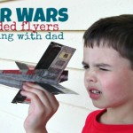 Star Wars Folded Flyers – Crafting with Dad