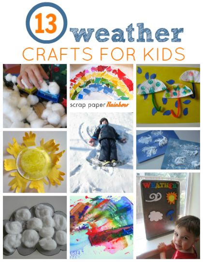 weather crafts for kids - Weather Pics For Kids