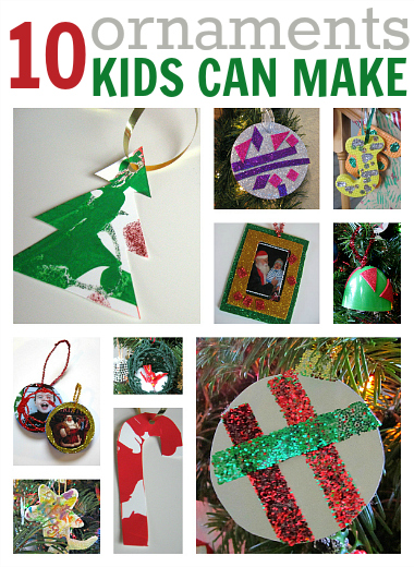 Christmas Ornament Craft List 10 Easy Christmas Ornament Crafts