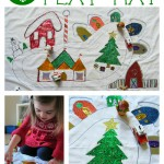 North Pole Play Mat