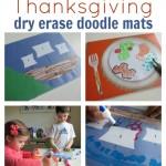 Thanksgiving Doodle Mats