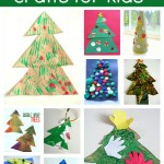 11 Easy Christmas Tree Crafts For Kids