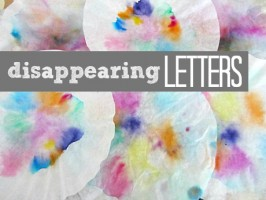 Disappearing Letters – Alphabet For Starters Activity