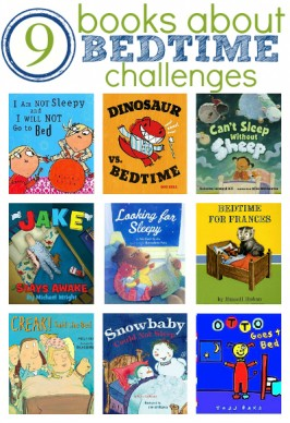 Books About Bedtime Challenges