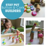 {Fine Motor} Button & Cork Builders