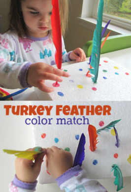 fine motor color match