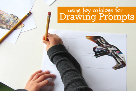 Drawing Activity For Kids - Drawing Prompts