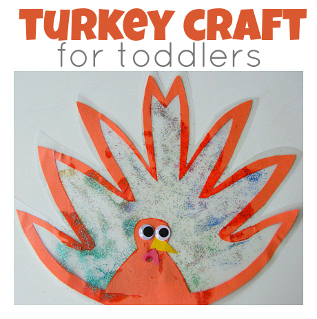 easy turkey craft for toddlers