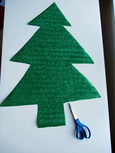 Christmas Tree Mural