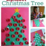 Alphabet Activity – Christmas Tree Alphabet
