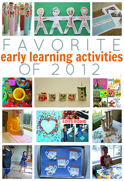 favorite early learning activities 12 of 2012
