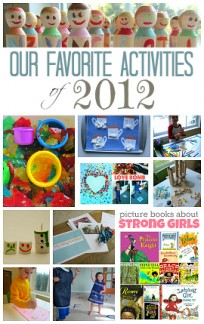 favorite kids crafts  of 2012