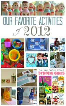 Favorite Early Learning Activities of 2012