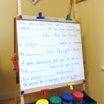fill in the blank easel stories early literacy