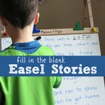 {fill in the blank} Easel Stories