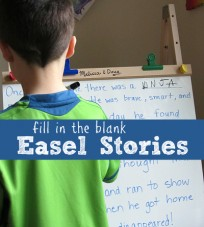 early writing activity for kids