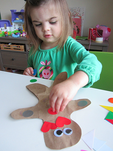 ginger bread craft for kids and toddlers