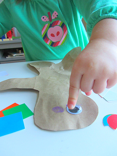 gingerbread craft for toddlers