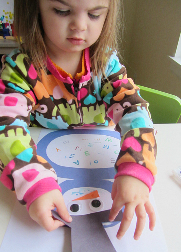 letter activity for toddlers