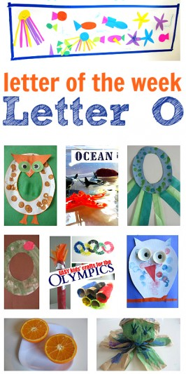 letter of the week letter O theme