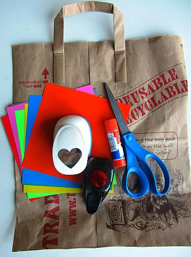 paper bag gingerbread men craft for toddlers