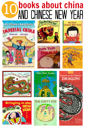 10 books about China and Chinese New Year