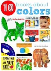 10 books about colors for toddlers and kids