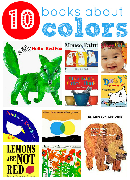 10 picture books about colors - Color Books For Toddlers