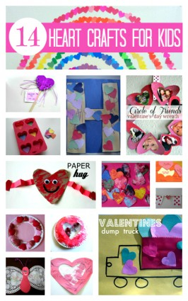 14 Heart Crafts & Activities For Kids