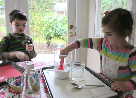 love potions science for kids valentine's day activity