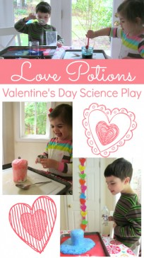 love potions valentine's day science