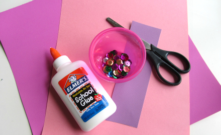 shape princess craft for toddlers