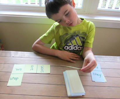sight word dominoes game