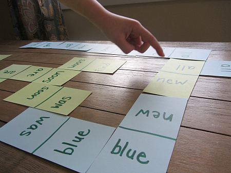 sight word game for kids