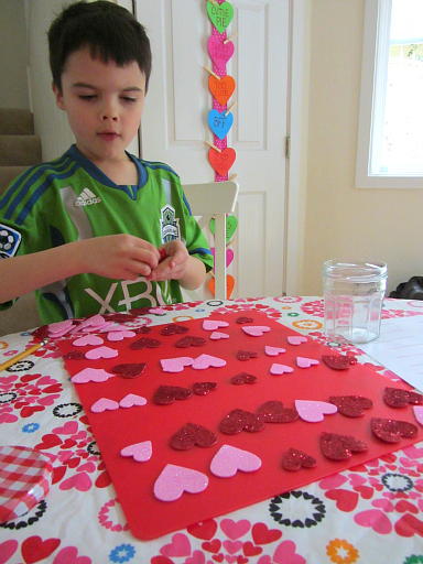 valentine's day math lesson for kids