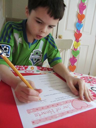 valentine's day math lesson