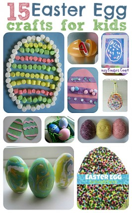 15 Easy Easter Egg Crafts For Kids